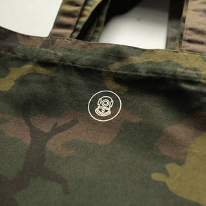 Load image into Gallery viewer, CANVAS HEAVY DUTY CAMO TOTE