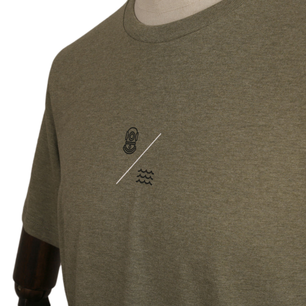 Charger l'image dans la galerie, SIMPLE EQUATION TEE | Heather Olive