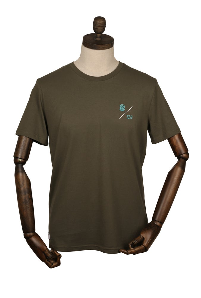 SIMPLE EQUATION TEE | Khaki Olive
