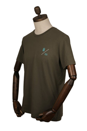 Load image into Gallery viewer, SIMPLE EQUATION TEE | Khaki Olive