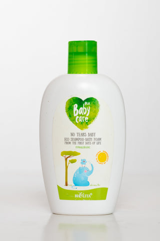 *No Tears Baby Eco Shampoo-Bath Foam