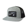 Richardson 511 Flat Bill Cap Flag Logo