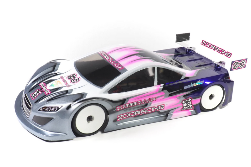 ZooRacing Dogsbollox ZooZilla 190mm touring car body shell  (ZR-0005-07)
