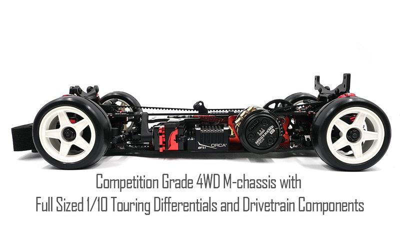 Xpress - Execute XM1 1/10 Competition 4WD Mini Touring Car Kit (XP-90004)