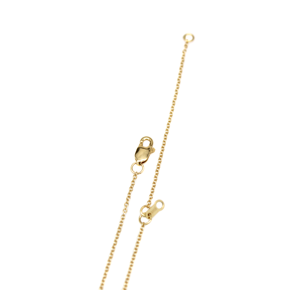 Mini Dart Necklace - Solid 18K