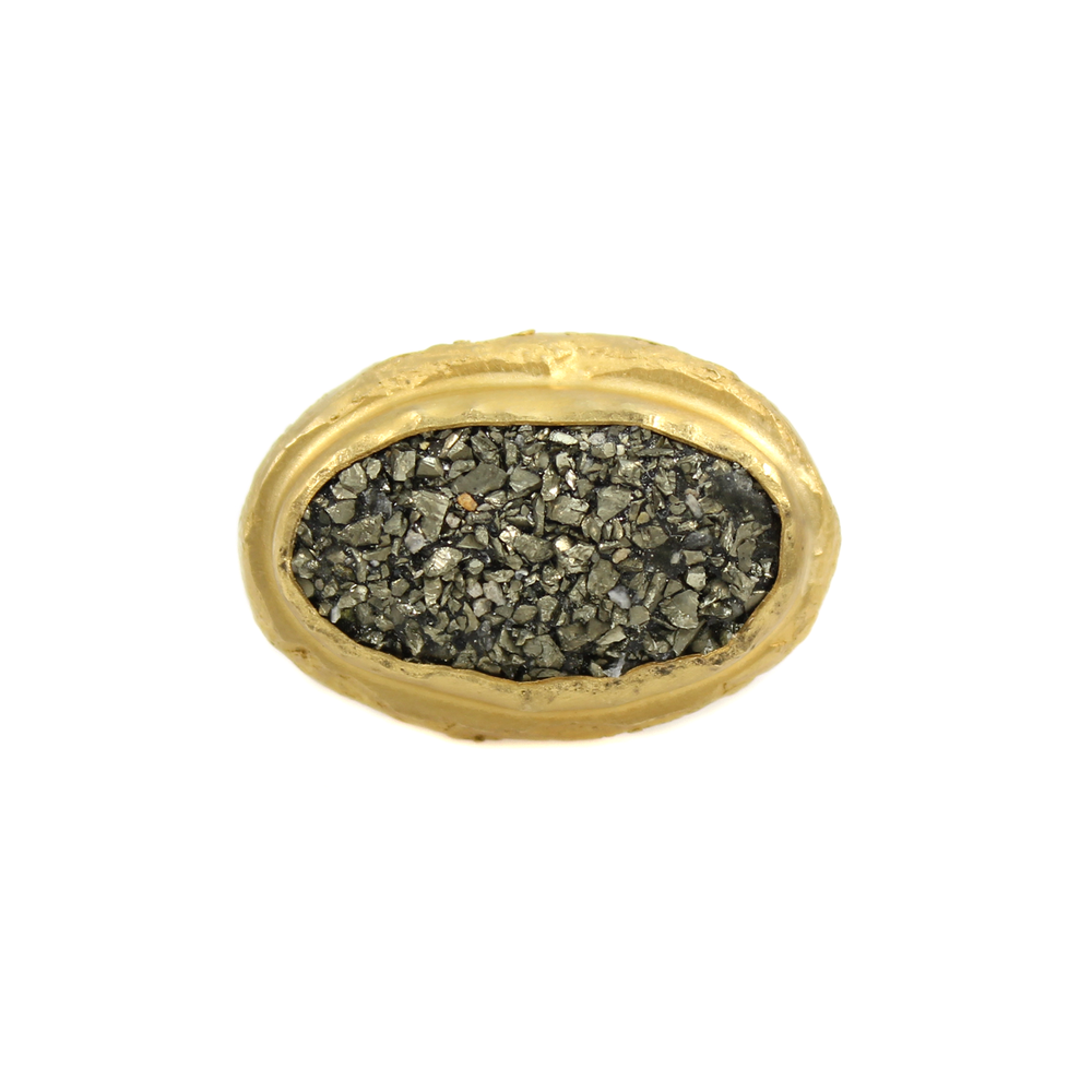One-of-a-Kind Gravel Mound Ring