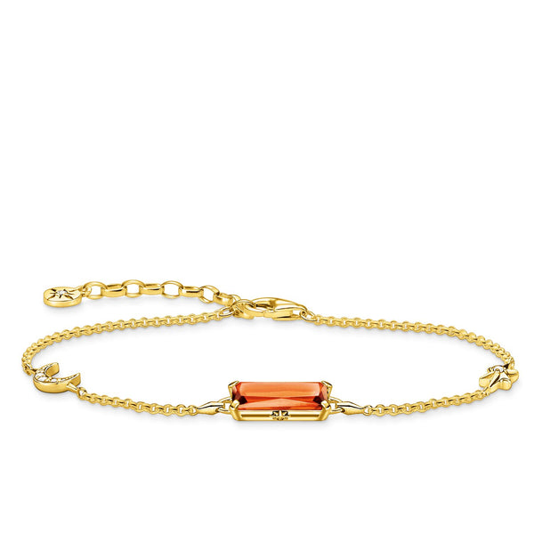 Thomas Sabo Bracelet Orange Stone