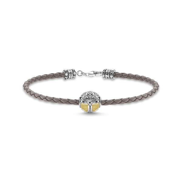 Thomas Sabo Leather Bracelet Tree Of Love