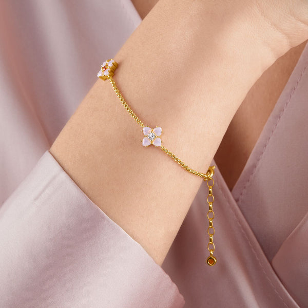 Thomas Sabo Bracelet Flower Gold