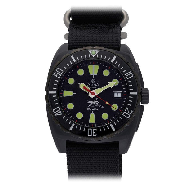 Adina Warwick Firearms Mil Spec Edition Watch Ct115 (Blackout)