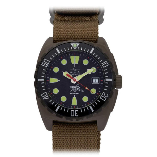 Adina Warwick Firearms Mil Spec Edition Watch Ct115 (Flat Dark Earth)