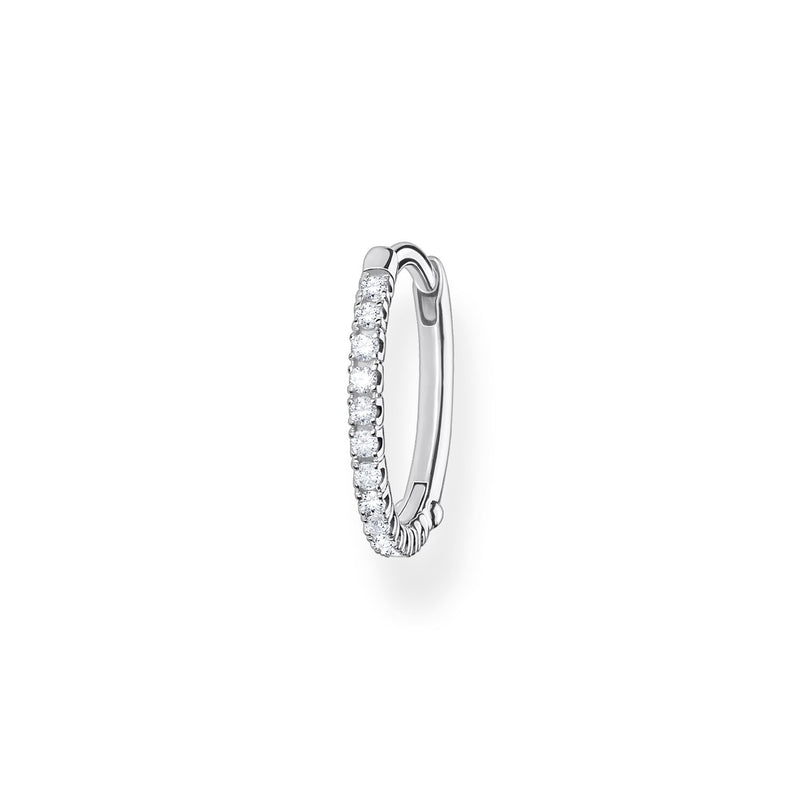 Thomas Sabo Single Hoop Earring White Stones