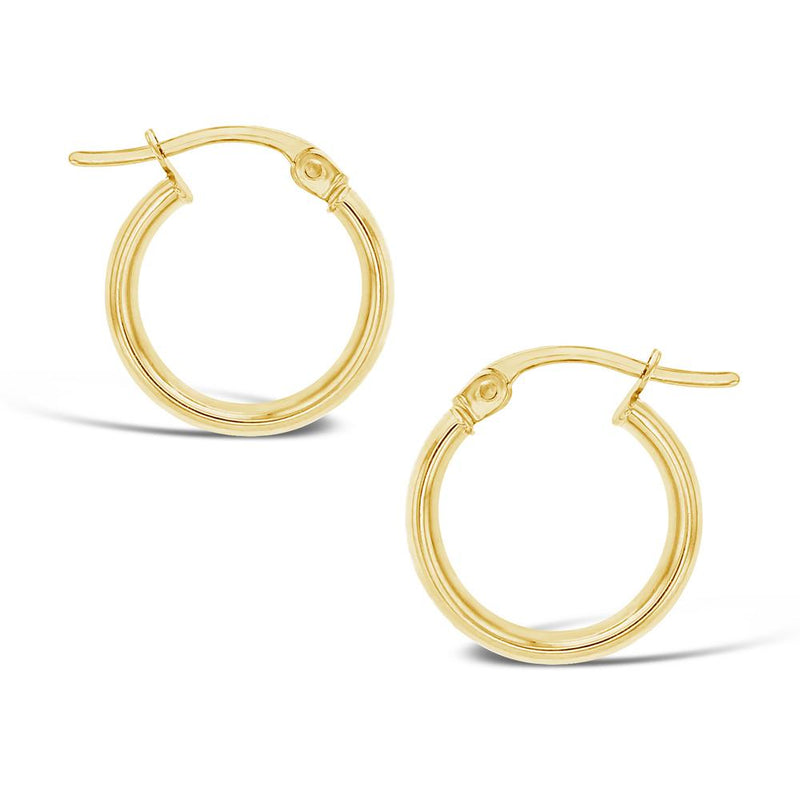 Hoop Earrings in 9ct Gold