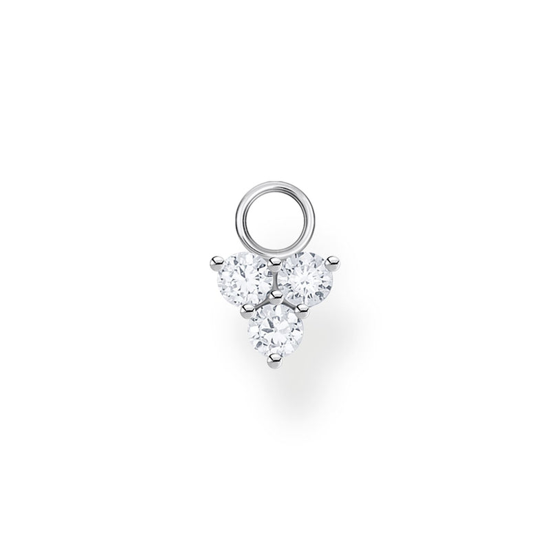 Thomas Sabo Ear Pendant  White Stone (Single)