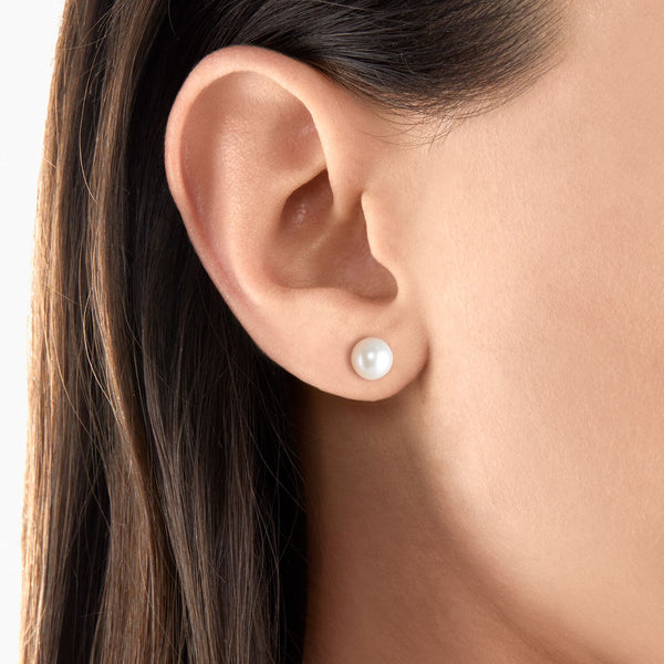 Thomas Sabo Ear Studs Pearl Gold