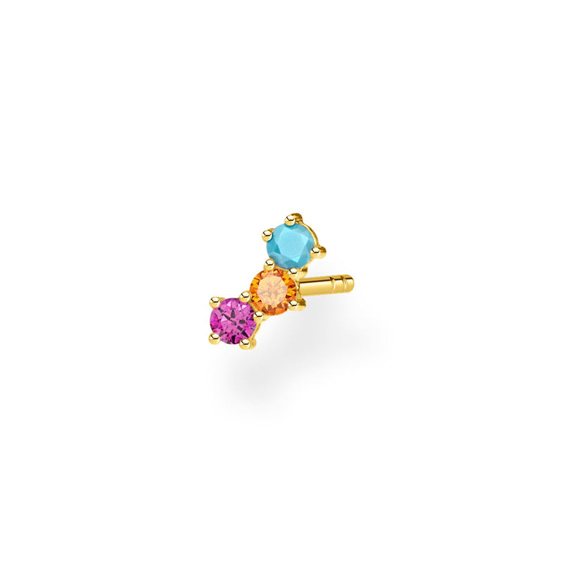 Thomas Sabo Ear Stud Colourful Stones (Single)