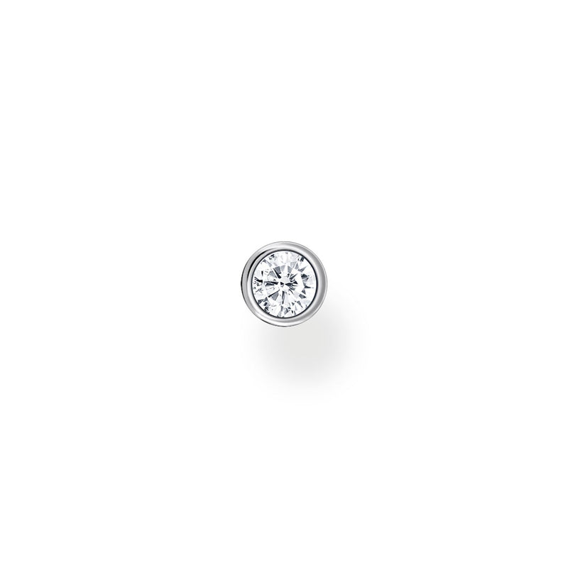 Thomas Sabo Ear Stud White Stone