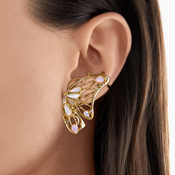 Thomas Sabo Single Ear Stud Butterfly Gold