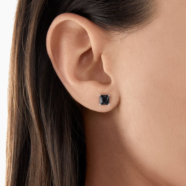 Thomas Sabo Ear Studs Black Stone Silver