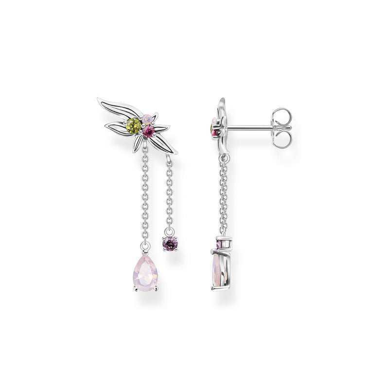 Thomas Sabo Earring Flower Silver