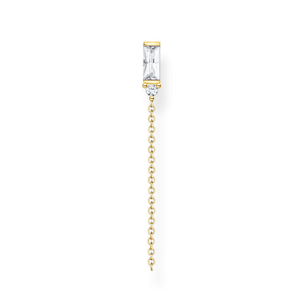 Thomas Sabo Single Earring Stones Gold