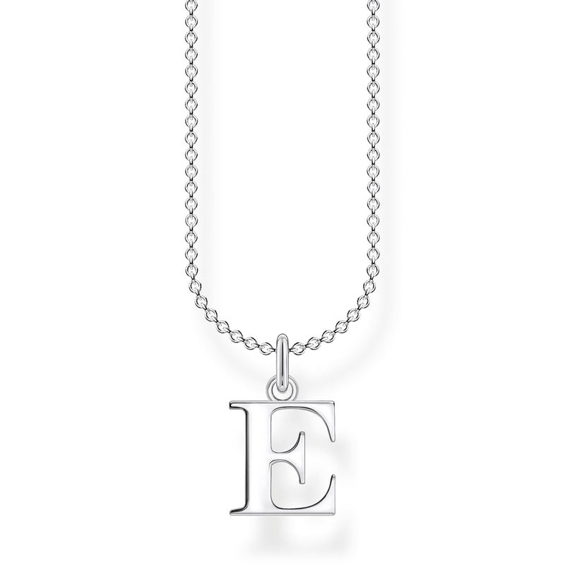 Thomas Sabo Necklace Letter E