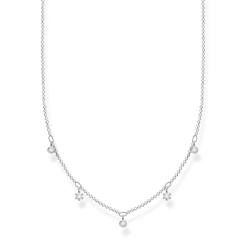 Thomas Sabo Necklace White Stones
