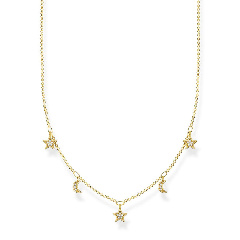 Thomas Sabo Necklace Crescent Moons & Stars
