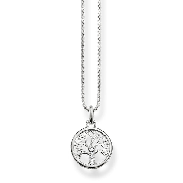 Thomas Sabo Necklace Tree Of Love Silver