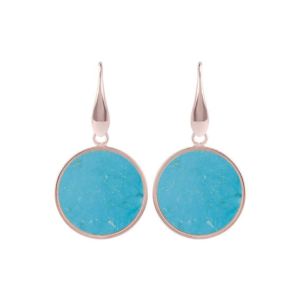 Bronzallure Mini Magnesite Mineral Earrings