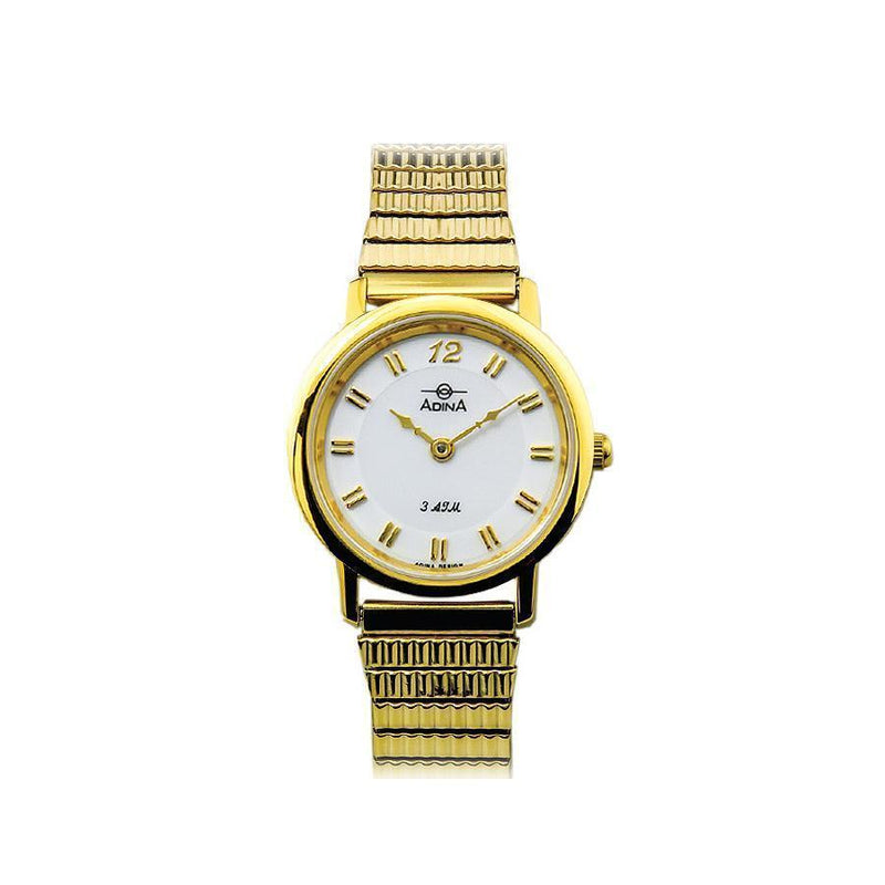 Adina Everyday Classic Dress Watch Nk40 G1Xe