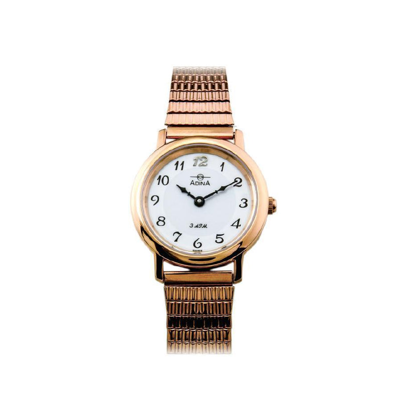 Adina Everyday Classic Dress Watch Nk40 R1Fe