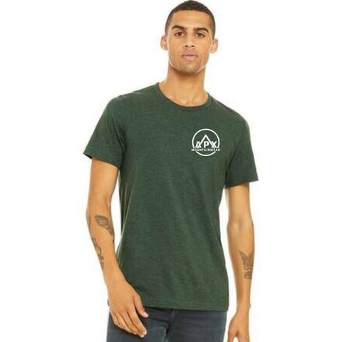 APX MOUNTAINWEAR - T-SHIRT (Heather Forest Green)