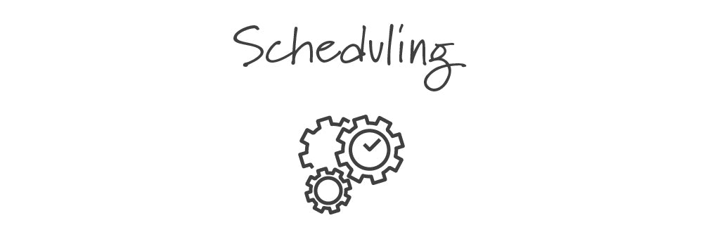 We make scheduling easy