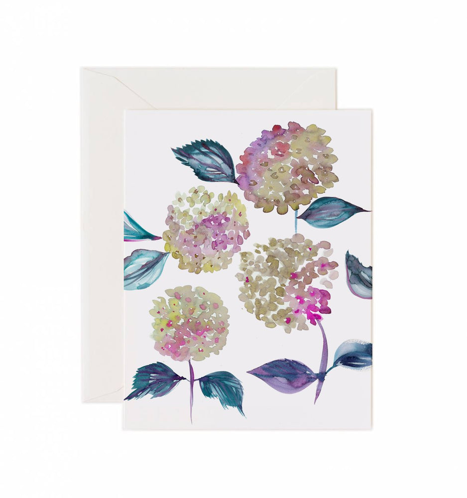 Load image into Gallery viewer, 5x7 Notecard - Hydrangea