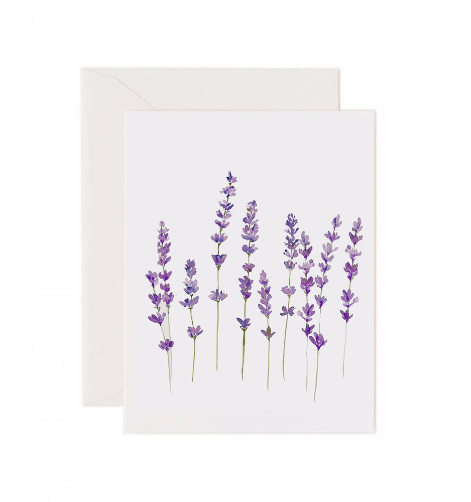 Load image into Gallery viewer, 5x7 Notecard - Wild Lavender