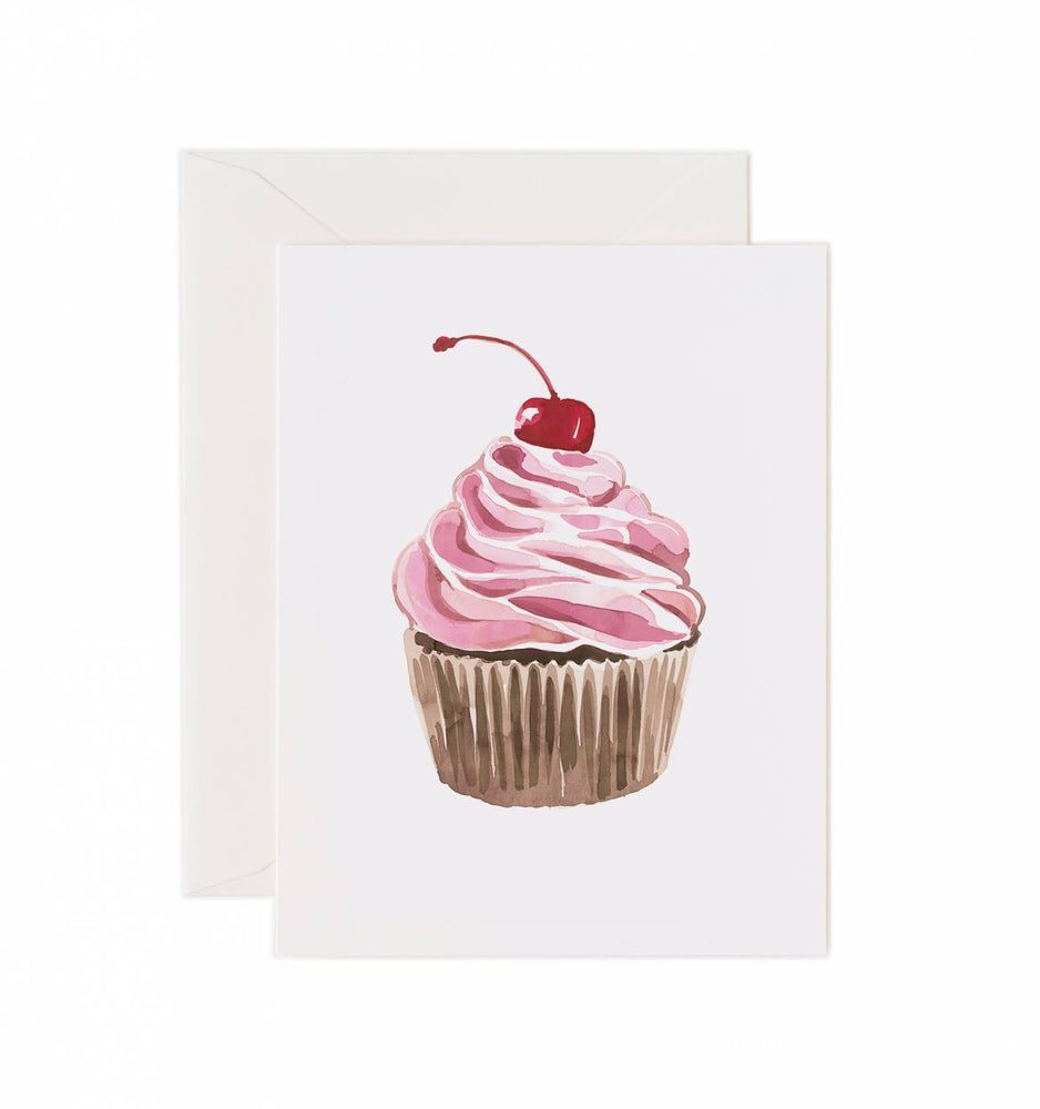 Load image into Gallery viewer, 5x7 Notecard - Cupcake