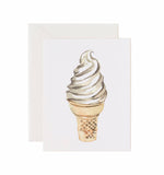 5x7 Notecard - Ice Cream