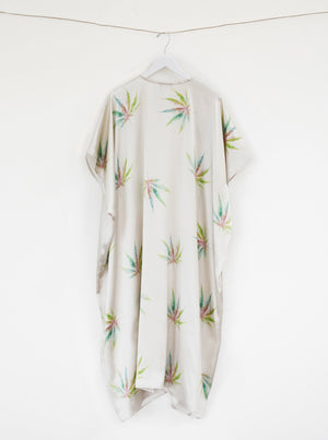 The Mary Jane All Over Ivory Duster