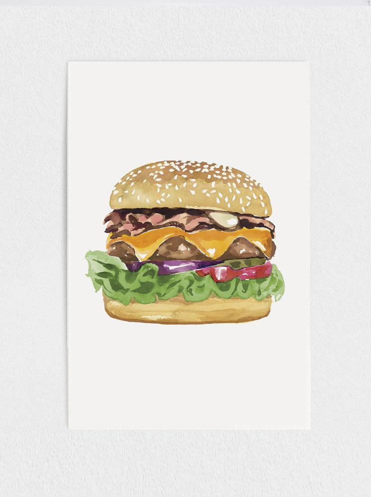 Load image into Gallery viewer, Burger Print