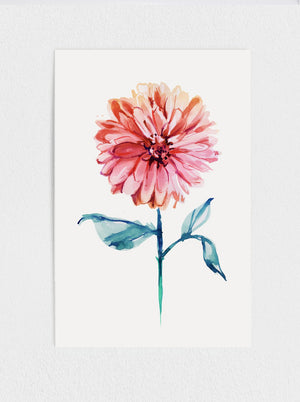 Load image into Gallery viewer, Dahlia Print #1
