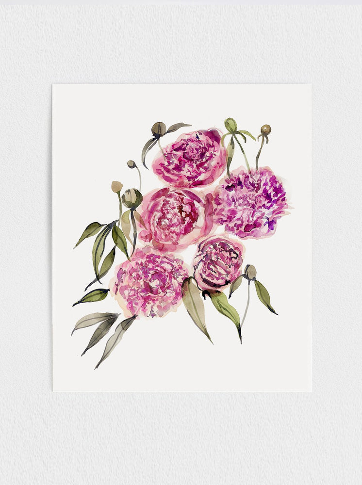 Load image into Gallery viewer, Peony Print