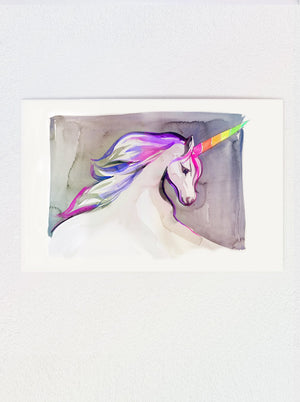 Load image into Gallery viewer, Unicorn #2 Print