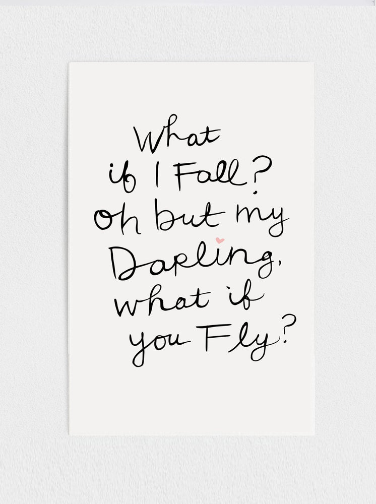 What if you Fly Print