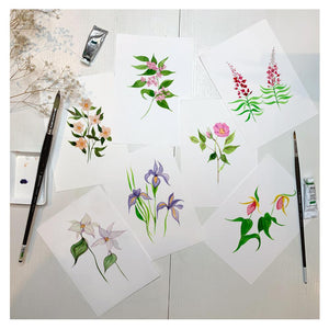 Load image into Gallery viewer, Wildflowers Handkerchief