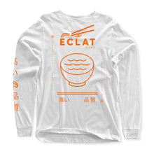 Load image into Gallery viewer, éclat Soup Longsleeve T-Shirt (White)