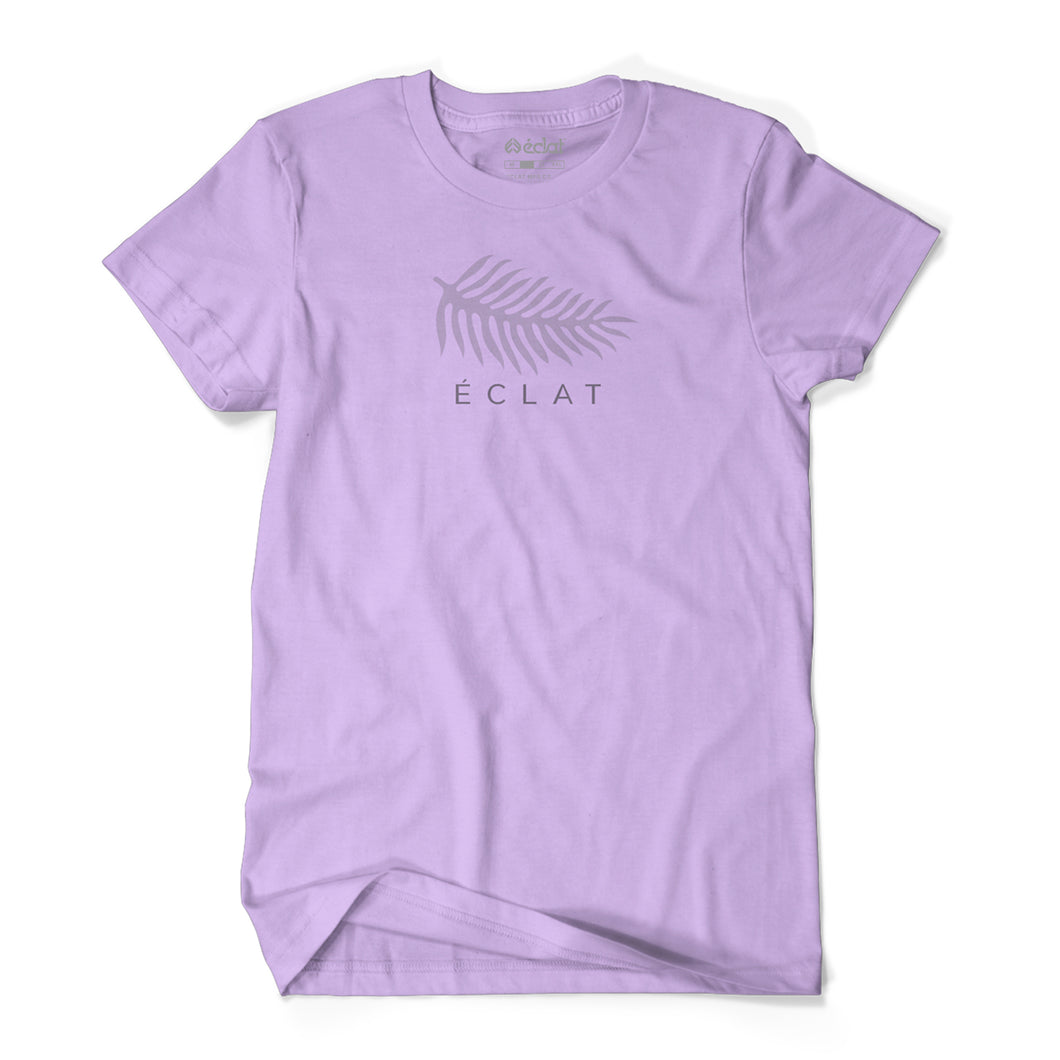 éclat Monstera T-Shirt (Lilac)