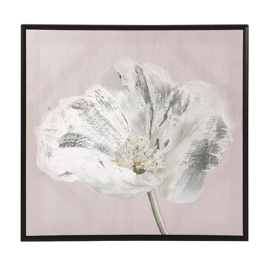 Canvas bedrukt papaver