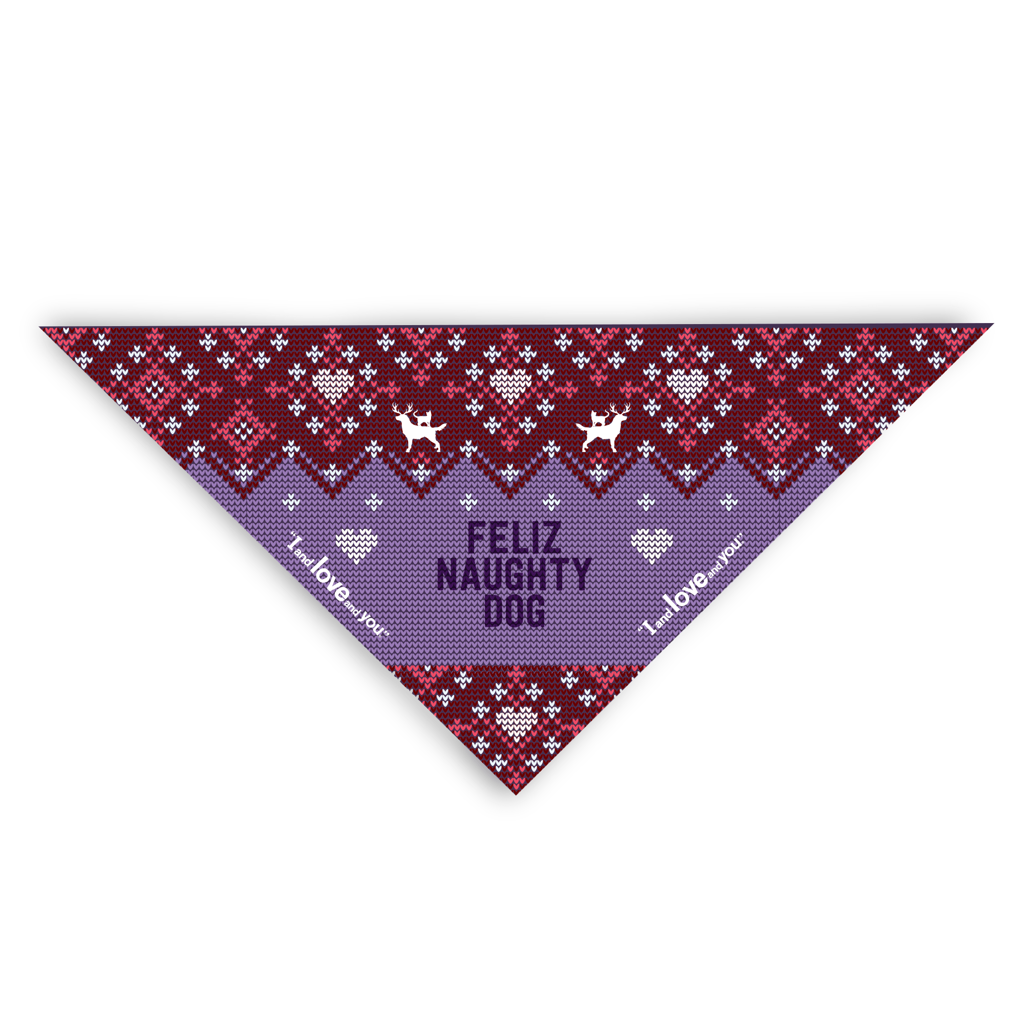Feliz Naughty Dog Bandana