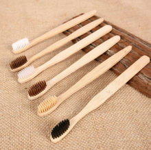Load image into Gallery viewer, Eco Friendly Bamboo Brush